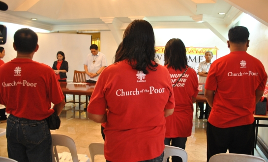 Caritas Manila presentation at Manila archdiocese chancery. - NJ Viehland Photos