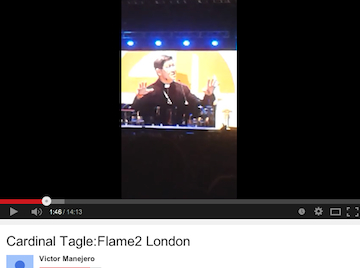 Cardinal Tagle at Flame2 YouTube